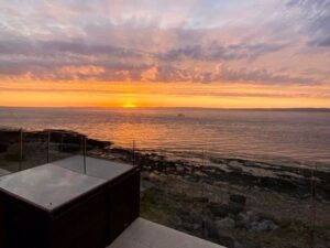 sunset at portishead house for sale